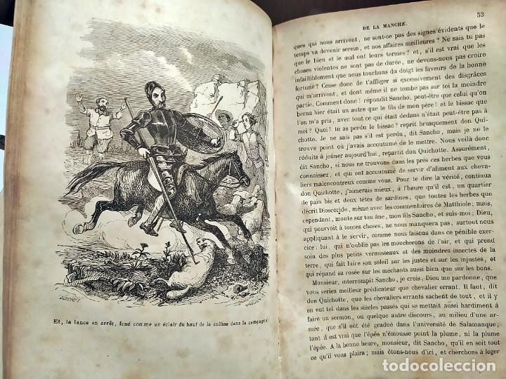 Libros antiguos: DON QUIJOTE DE LA MANCHA. PRECIOSO LIBRO ILUSTRADO DEL SIGLO XIX. - Foto 17 - 217626180