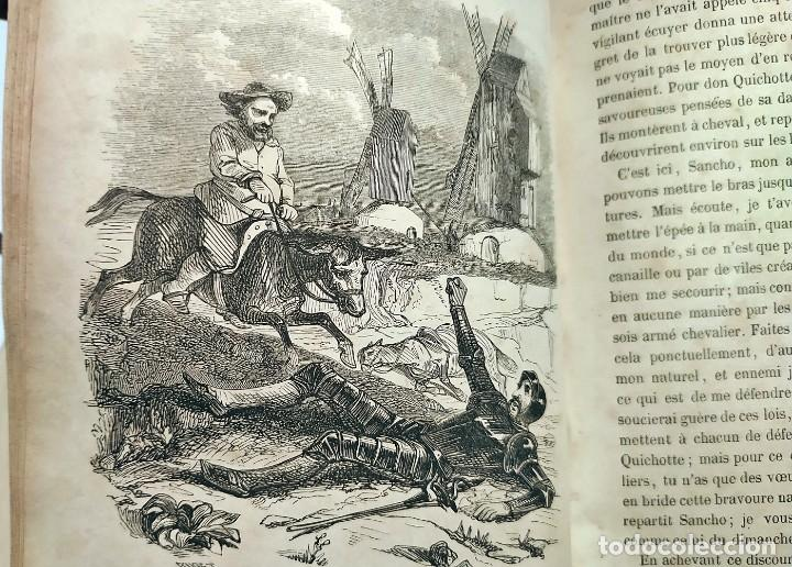 Libros antiguos: DON QUIJOTE DE LA MANCHA. PRECIOSO LIBRO ILUSTRADO DEL SIGLO XIX. - Foto 19 - 217626180