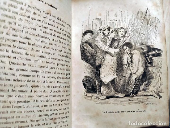 Libros antiguos: DON QUIJOTE DE LA MANCHA. PRECIOSO LIBRO ILUSTRADO DEL SIGLO XIX. - Foto 20 - 217626180