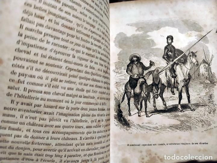 Libros antiguos: DON QUIJOTE DE LA MANCHA. PRECIOSO LIBRO ILUSTRADO DEL SIGLO XIX. - Foto 21 - 217626180