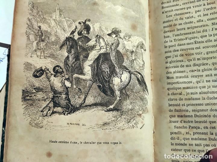 Libros antiguos: DON QUIJOTE DE LA MANCHA. PRECIOSO LIBRO ILUSTRADO DEL SIGLO XIX. - Foto 22 - 217626180
