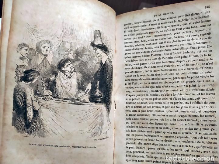 Libros antiguos: DON QUIJOTE DE LA MANCHA. PRECIOSO LIBRO ILUSTRADO DEL SIGLO XIX. - Foto 23 - 217626180