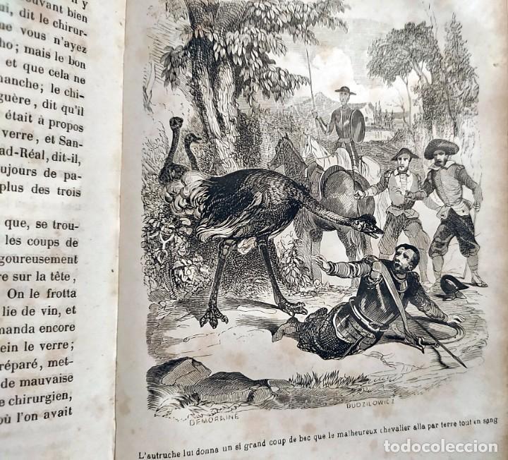 Libros antiguos: DON QUIJOTE DE LA MANCHA. PRECIOSO LIBRO ILUSTRADO DEL SIGLO XIX. - Foto 24 - 217626180