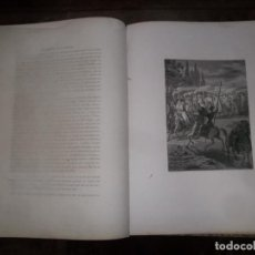 Libros antiguos: EL INGENIOSO HIDALGO DON QUIJOTE DE LA MANCHA. IMPRENTA DE TOMÁS GORCHS, 1859, BARCELONA. TOMO I. Lote 217769760