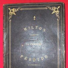 Libros antiguos: EL PARAÍSO PERDIDO (JOHN MILTON) (1886) (50 ILUSTRACIONES DE GUSTAVE DORÉ) (VER FOTOS ADICIONALES). Lote 217811788