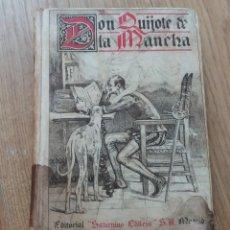 Libros antiguos: DON QUIJOTE DE LA MANCHA. CERVANTES. EDITORIAL SATURNINO CALLEJA. MAYO 1905. EDICIÓN ESCOLAR.. Lote 218097267