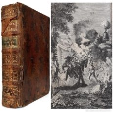 Libros antiguos: 1781 - DON QUIJOTE DE LA MANCHA - ANTIGUA EDICIÓN ILUSTRADA CON GRABADOS - CERVANTES - SIGLO XVIII. Lote 218319403