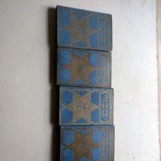 Libros antiguos: EL LIBRO DE LAS MIL Y UNA NOCHES VICENTE BLASCO IBAÑEZ 5 TOMOS. Lote 218976430