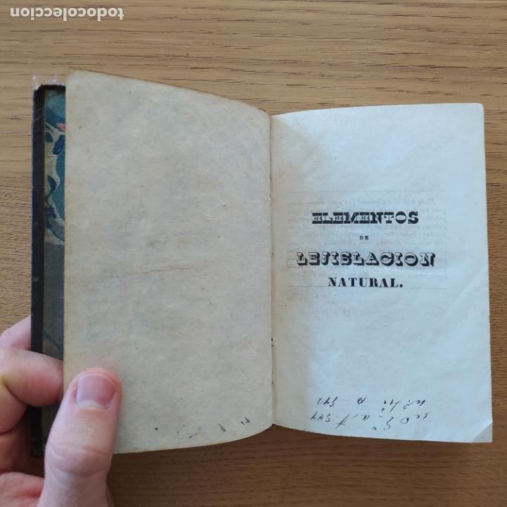 Libros antiguos: Lejislacion natural, Perreau. Ed. Cabrerizo, 1836 - Foto 5 - 219290363