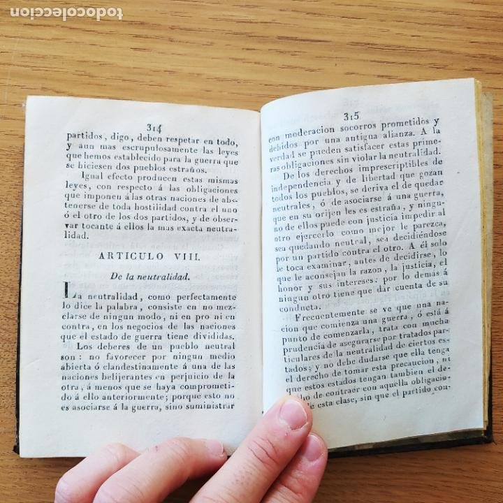 Libros antiguos: Lejislacion natural, Perreau. Ed. Cabrerizo, 1836 - Foto 10 - 219290363