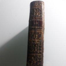 Libros antiguos: ABENTURAS DE TELEMACO, TOMO II .EN MADRID .IMPRENTA VIUDA MARIN .1793. Lote 219586086