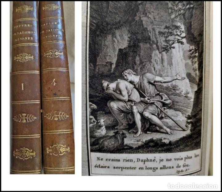AÑO 1795. ATENCIÓN A LAS BELLAS ILUSTRACIONES DE ESTOS 2 ELEGANTES TOMOS DEL SIGLO XVIII. (Libros antiguos (hasta 1936), raros y curiosos - Literatura - Narrativa - Clásicos)