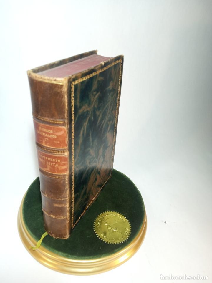 LIBRO DEL BUEN AMOR. JUAN RUIZ ARCIPRESTE DE HITA II. CLÁSICOS CASTELLANOS. Nº 17.1913. MADRID. (Libros antiguos (hasta 1936), raros y curiosos - Literatura - Narrativa - Clásicos)