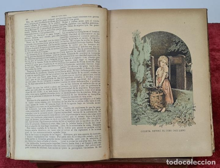 Libros antiguos: OBRAS COMPLETAS DE VICTOR HUGO. 6 TOMOS. EDIT. TERRAZA ALIENA. 1886-1888. - Foto 4 - 221524641