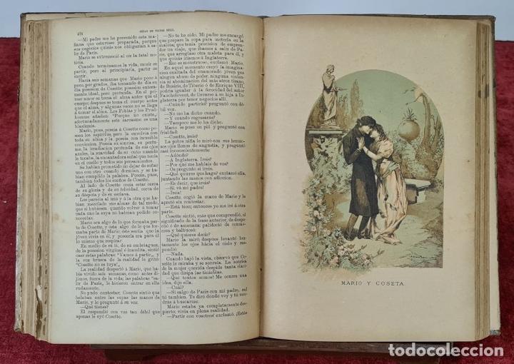 Libros antiguos: OBRAS COMPLETAS DE VICTOR HUGO. 6 TOMOS. EDIT. TERRAZA ALIENA. 1886-1888. - Foto 7 - 221524641