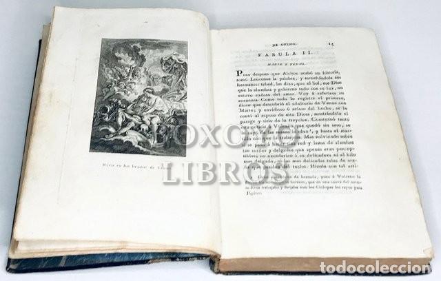 Libros antiguos: OVIDIO. Metamorfóseos ó Transformaciones de Ovidio. Tomo II. IMprenta Real. 1809 - Foto 3 - 222070045