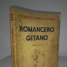 Libri antichi: ROMANCERO GITANO - AÑO 1936 - FEDERICO GARCIA LORCA - ORIGINAL.. Lote 222199452