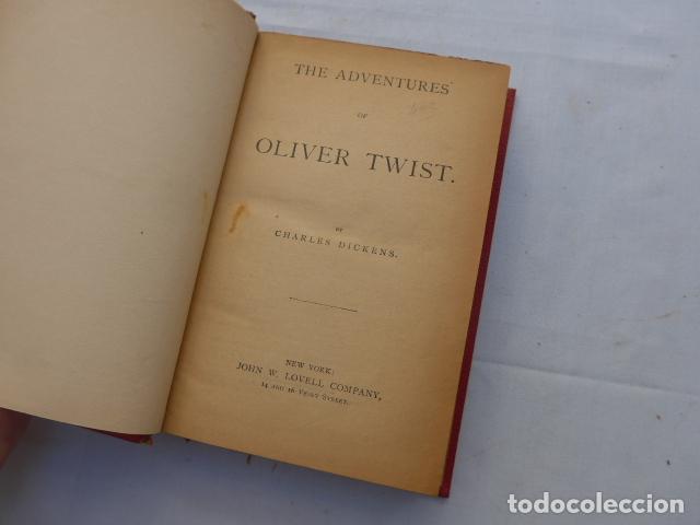 Libros antiguos: * Antiguo libro de charles dickens, oliver twist, original. ZX - Foto 3 - 222285270