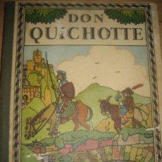 Libros antiguos: DON QUICHOTTE ILUST. ALBERT URIET 1930 ED MAISON ALFRED PRECIOSAS ILUSTRACIONES DON QUIJOTE. Lote 222347028