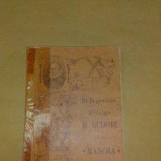 Libros antiguos: DON QUIJOTE DE LA MANCHA ALBU EDITOR 1915. Lote 222361652