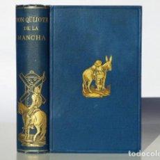 Livres anciens: DON QUIJOTE DE LA MANCHA - MIGUEL DE CERVANTES - JORGE TICKNOR - NY APPLETON Y CIA 1891. Lote 222674998