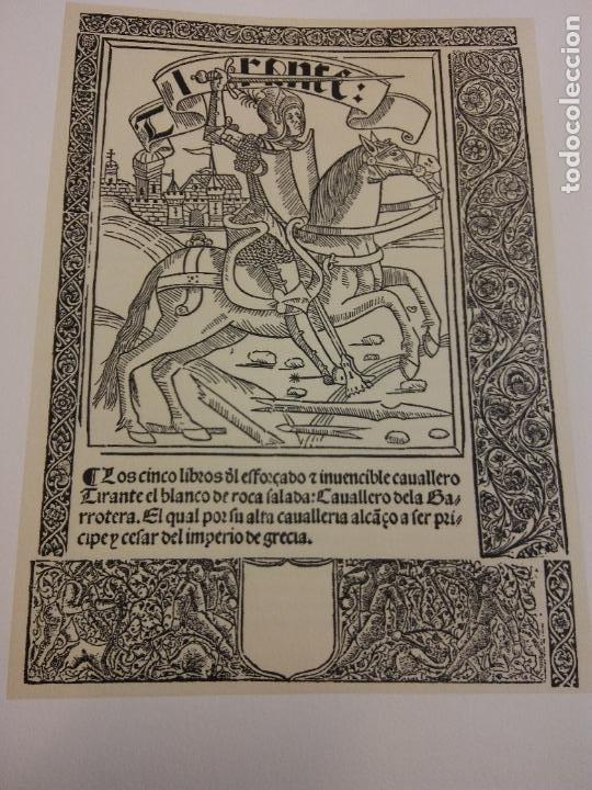 TIRANTE EL BLANCO. 2 TOMOS. JOANOT MARTORELL. ASOCIACIÓN DE BIBLIÓFILOS DE BARCELONA (Libros antiguos (hasta 1936), raros y curiosos - Literatura - Narrativa - Clásicos)