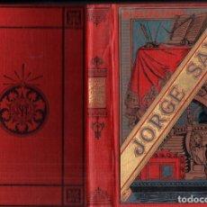 Libros antiguos: JORGE SAND : LEONI LEONE (ARTE Y LETRAS MAUCCI, S.F.). Lote 222959497