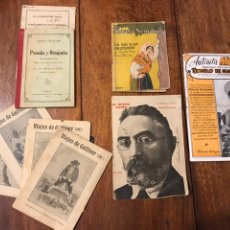 Libros antiguos: LOTE 4 NOVELAS CORTAS POS SXX Y REGALO LIBRO ORTOGRAFÍA 1910. Lote 223053946