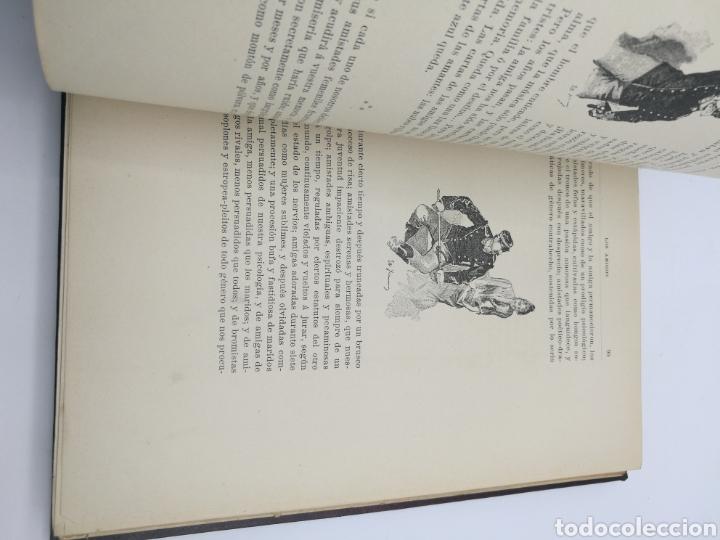 Libros antiguos: Los amigos por E Amicis bonita encuadernación - Foto 3 - 224335690