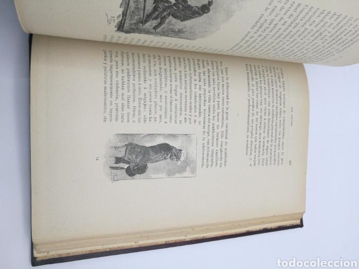Libros antiguos: Los amigos por E Amicis bonita encuadernación - Foto 4 - 224335690