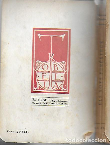 Libros antiguos: Els sots ferestecs / R. Casellas. BCN : Stat catalana Ed., 1923. 20x13cm. 208 p. exmp. pertenyent a - Foto 3 - 26207878