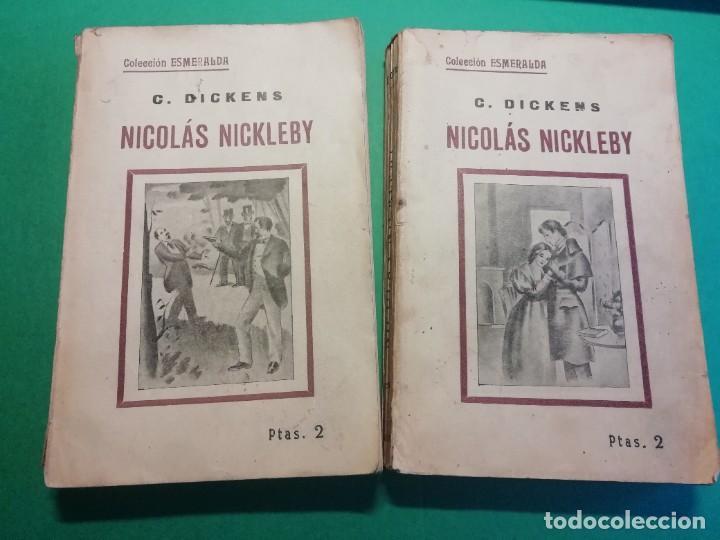 NICOLÀS NICKLEBY DE CHARLES DICKNES EDITADO AÑO 1904 (Libros antiguos (hasta 1936), raros y curiosos - Literatura - Narrativa - Clásicos)