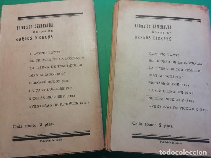 Libros antiguos: NICOLÀS NICKLEBY DE CHARLES DICKNES EDITADO AÑO 1904 - Foto 2 - 224494301