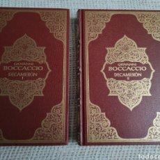 Libros antiguos: EL DECAMERÓN. , OBRA COMPLETA EN 2 TOMOS. / BOCCACCIO, GIOVANNI.. Lote 58426518