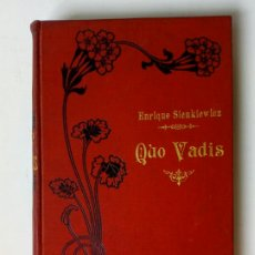 Libros antiguos: (SÓLO TOMO 2) QUO VADIS (E. SIENKIEWICZ) CASA EDITORIAL MAUCCI, BARCELONA 1905. Lote 224718161