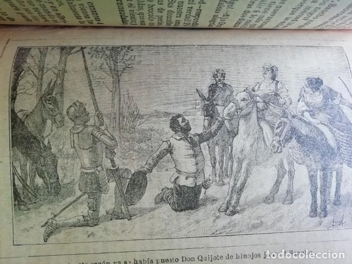Libros antiguos: EL INGENIOSO HIDALGO DON QUIJOTE DE LA MANCHA CASA EDITORIAL SATURNINO CALLEJA - Foto 7 - 224730290