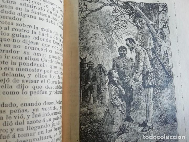Libros antiguos: EL INGENIOSO HIDALGO DON QUIJOTE DE LA MANCHA CASA EDITORIAL SATURNINO CALLEJA - Foto 10 - 224730290