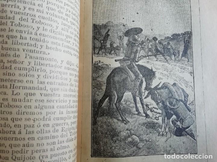 Libros antiguos: EL INGENIOSO HIDALGO DON QUIJOTE DE LA MANCHA CASA EDITORIAL SATURNINO CALLEJA - Foto 11 - 224730290