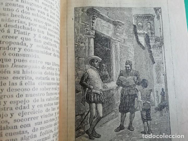 Libros antiguos: EL INGENIOSO HIDALGO DON QUIJOTE DE LA MANCHA CASA EDITORIAL SATURNINO CALLEJA - Foto 12 - 224730290
