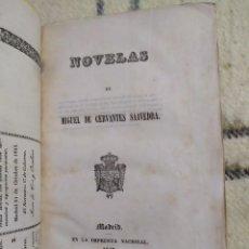 Libros antiguos: 1843. NOVELAS EJEMPLARES. CERVANTES. GRABADOS.. Lote 225216865