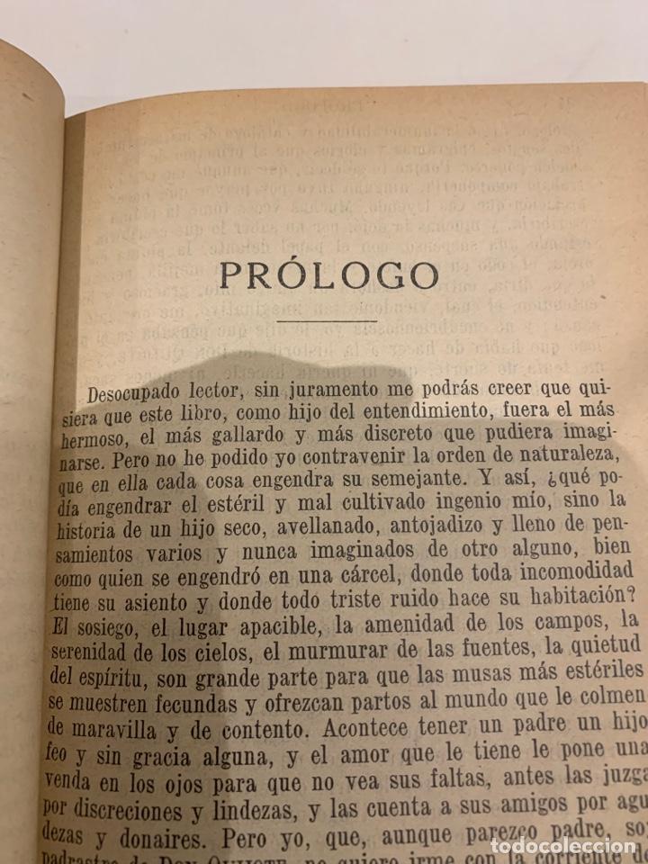 Libros antiguos: El ingenioso Hidalgo Don Quijote de la mancha - Foto 6 - 225855960