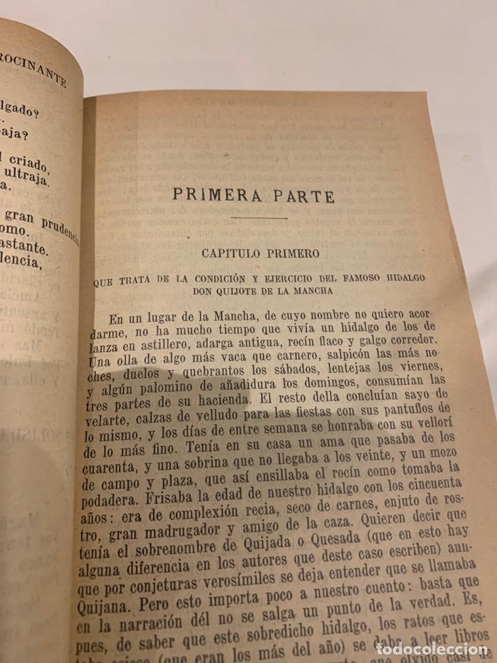 Libros antiguos: El ingenioso Hidalgo Don Quijote de la mancha - Foto 7 - 225855960
