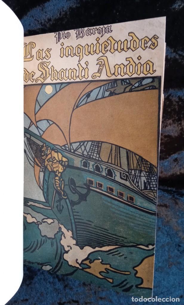 EL MAR - LAS INQUIETUDES DE SHANTI ANDIA - PIO BAROJA - 1911 - PRIMERA EDICION - RENACIMIENTO (Libros antiguos (hasta 1936), raros y curiosos - Literatura - Narrativa - Clásicos)