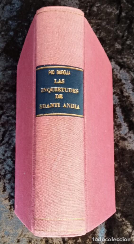 Libros antiguos: EL MAR - LAS INQUIETUDES DE SHANTI ANDIA - PIO BAROJA - 1911 - PRIMERA EDICION - RENACIMIENTO - Foto 2 - 226298441
