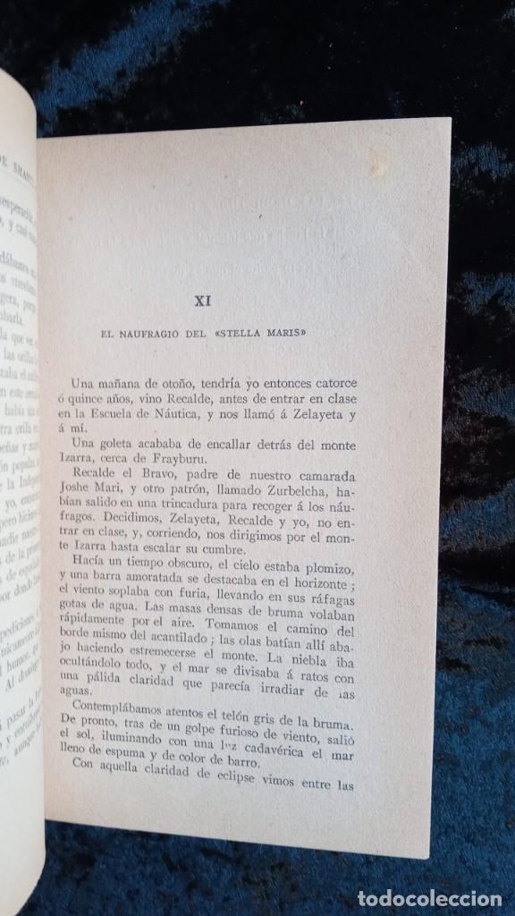 Libros antiguos: EL MAR - LAS INQUIETUDES DE SHANTI ANDIA - PIO BAROJA - 1911 - PRIMERA EDICION - RENACIMIENTO - Foto 5 - 226298441