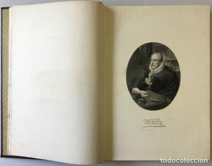 Libros antiguos: EL INGENIOSO HIDALGO DON QUIJOTE DE LA MANCHA. - CERVANTES SAAVEDRA, Miguel de. - Foto 3 - 226763282