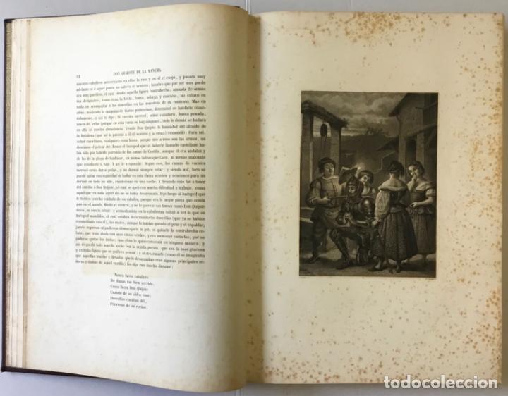 Libros antiguos: EL INGENIOSO HIDALGO DON QUIJOTE DE LA MANCHA. - CERVANTES SAAVEDRA, Miguel de. - Foto 4 - 226763282