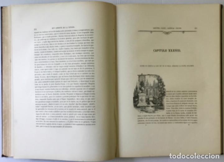 Libros antiguos: EL INGENIOSO HIDALGO DON QUIJOTE DE LA MANCHA. - CERVANTES SAAVEDRA, Miguel de. - Foto 10 - 226763282