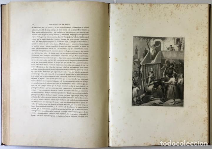 Libros antiguos: EL INGENIOSO HIDALGO DON QUIJOTE DE LA MANCHA. - CERVANTES SAAVEDRA, Miguel de. - Foto 11 - 226763282
