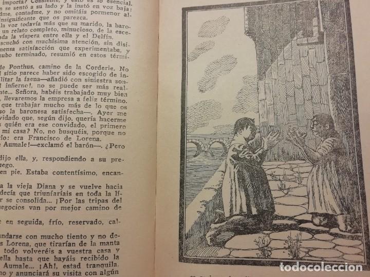 Libros antiguos: EL MUERTO RESUCITADO (LA REINE DARGOT) AÑO 1926 DE MICHEL ZÈVACO - Foto 4 - 227603815